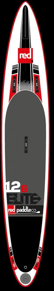 "Red 12'6"" Race Elite SUP"