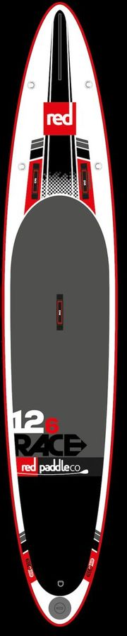"Red 12'6"" RACE SUP"