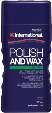 POLISH AND WAX 500 ML Kiillotus ja vaha