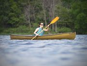 NorthStar Canoes - ADK Solo White/Gold